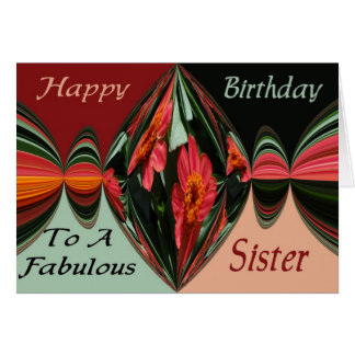 Birthday Sister Card