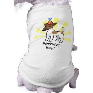 Birthday Smooth Fox Terrier Shirt