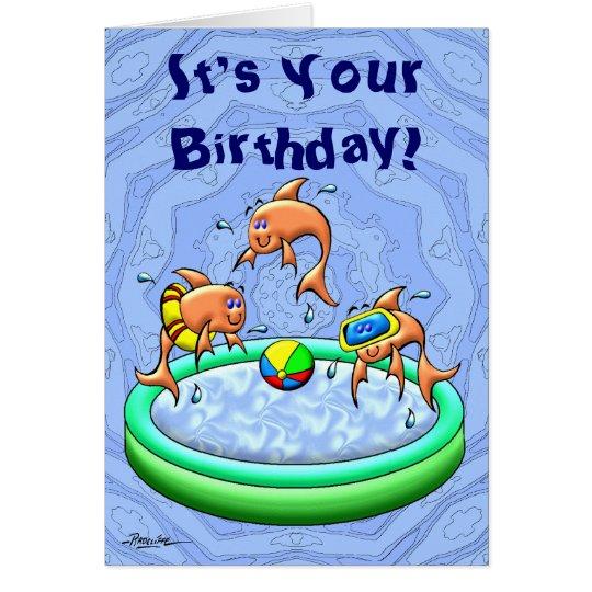 Birthday Splash Card