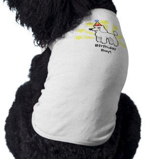 Birthday Standard/Miniature/Toy Poodle (puppy cut) Shirt