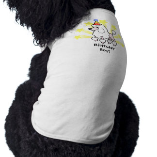 Birthday Standard/Miniature/Toy Poodle (show cut) Shirt