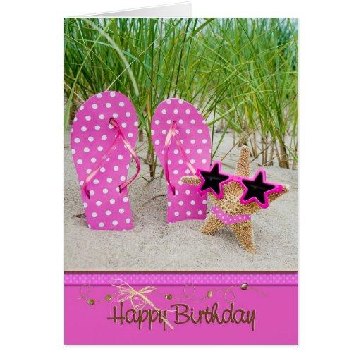 Birthday Star Card