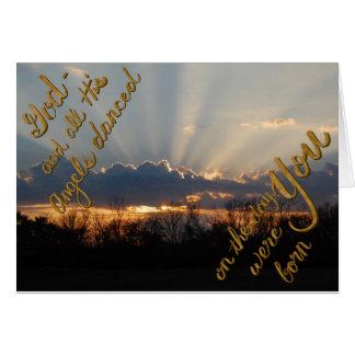 Birthday Sunrise Card