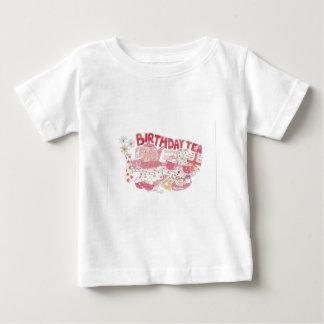 Birthday Tea Baby T-Shirt