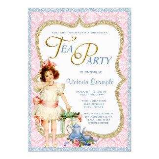 Birthday Tea Party Card