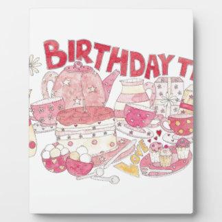 Birthday Tea Plaque