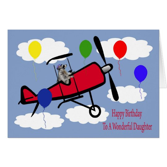 Birthday To Daughter Greeting Card