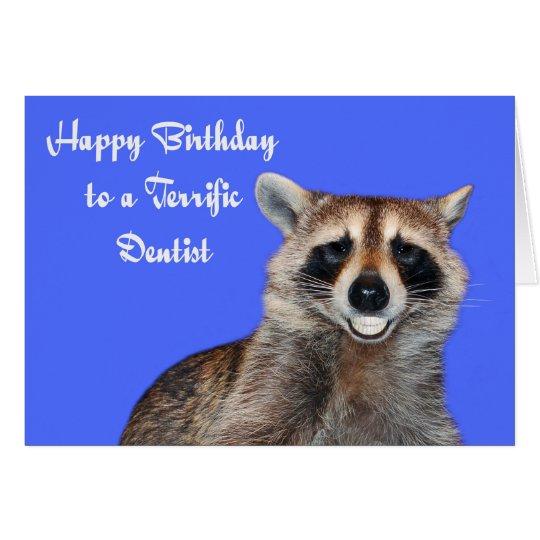 Birthday To Dentist Greeting Card