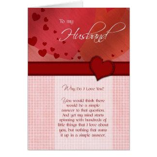 Birthday - To my husband Card