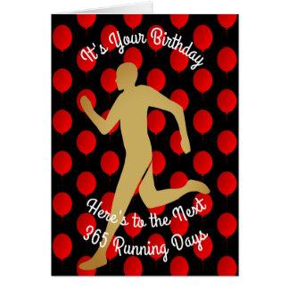 Birthday To The Next 365 Running Days Card