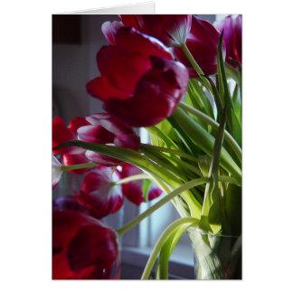 Birthday Tulips Greeting Card