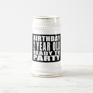 Birthday Two Year Old Ready to Party Mug