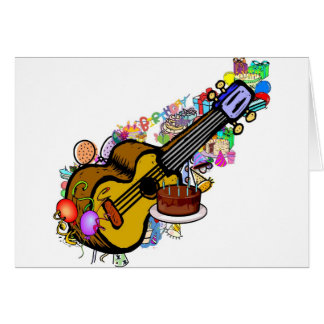 birthday uke greeting card