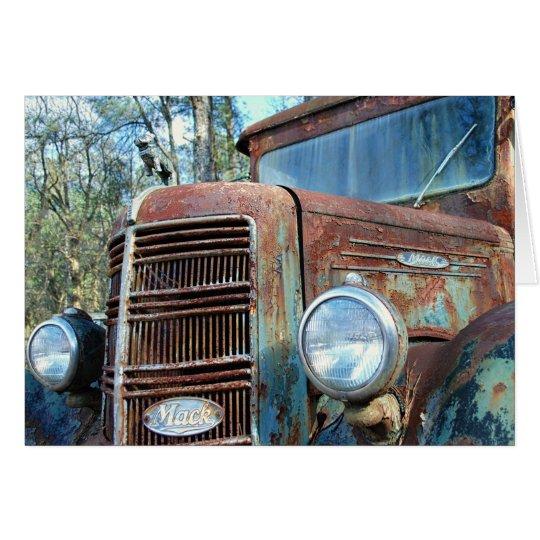 Birthday, Vintage Truck, Humour Card