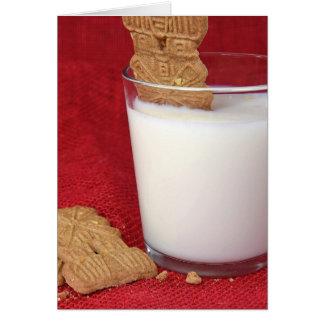 Birthday windmill cookie in milk card