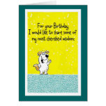 Birthday Wisdom Greeting Cards