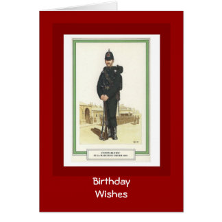 Birthday  Wishes, 1903, Constable RIC Card
