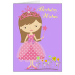 Birthday Wishes Fit for a Princess (Card) Greeting Card