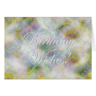 Birthday Wishes! Greeting Card