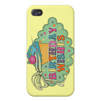Birthday Wishes iPhone 4 Case
