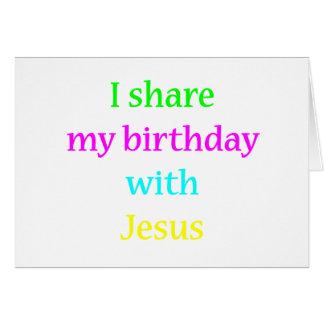 Birthday With Jesus Cards