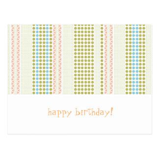 birthdaycard postcard