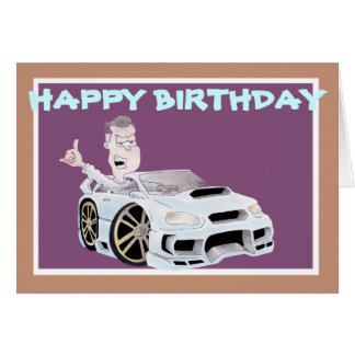 BIRTHDAYcard spangleMASSIVE I TOONS Greeting Card