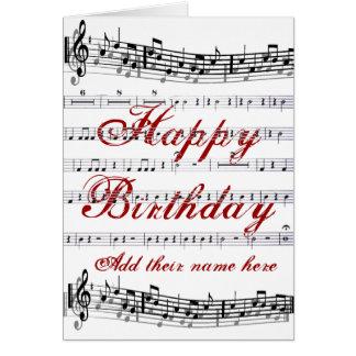 Birthdays__ Note Card