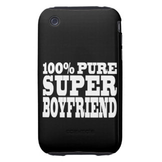 Birthdays Christmas : 100% Pure Super Boyfriend Tough iPhone 3 Cover