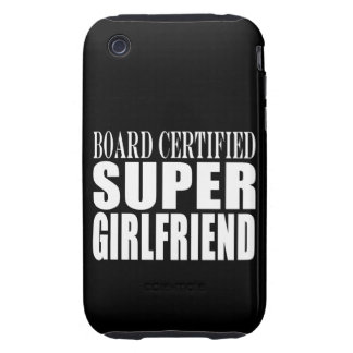 Birthdays Christmas Parties : Super Girlfriend Tough iPhone 3 Covers
