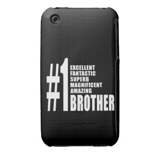 Birthdays Parties Christmas : Number One Brother iPhone 3 Case-Mate Cases