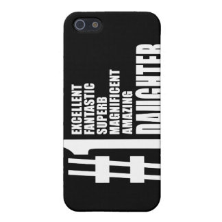 Birthdays Parties Christmas : Number One Daughter iPhone 5 Cases