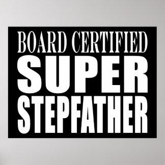 Birthdays Parties Christmas : Super Stepfather Print