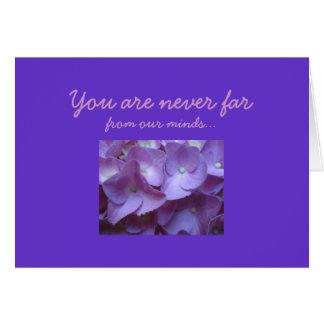 Birthmother in purple card