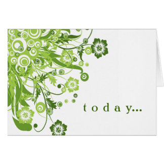 Birthmothers' Day card in green