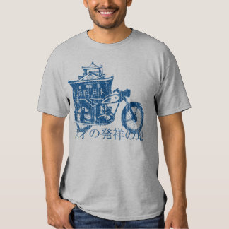 Birthplace of Genius (vintage blue) Tee Shirts