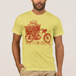 Birthplace of Genius (vintage red) T-Shirt