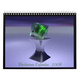 Birthstone Calendar  2008