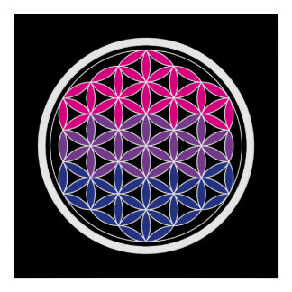 biSacred geometry Poster