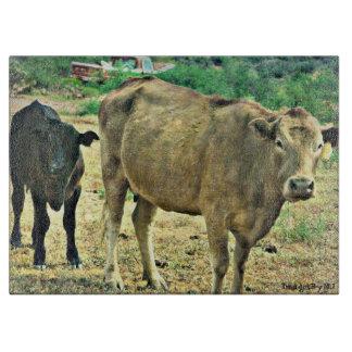 Bisbee Cows Cutting Board