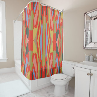 Biscayne Swirl Shower Curtain