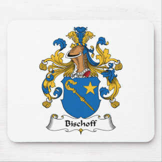 Bischoff Family Crest Mouse Pad
