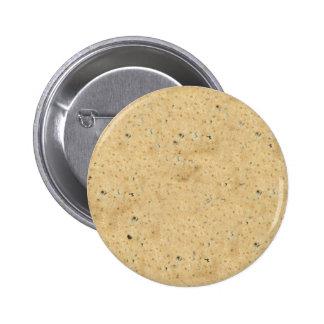 biscuit 6 cm round badge