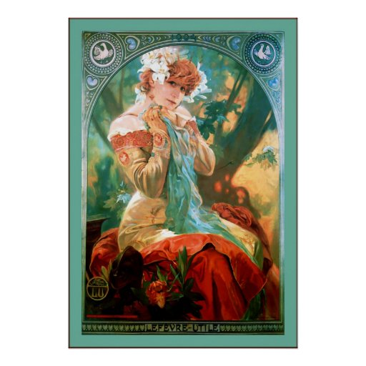 Biscuit Advertising ~ Alphonse Mucha Posters