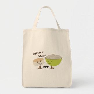 Biscuit + Gravy Best Friends Grocery Bag
