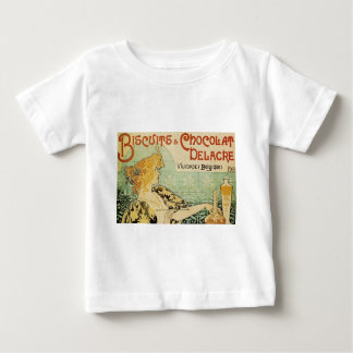 Biscuits and Chocolat Delacre Baby T-Shirt
