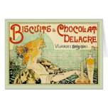 Biscuits & Chocolat Delacre (Sage) Cards