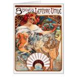 Biscuits Lefevre-Utile, Mucha Cards