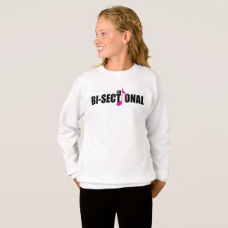 Bisectional Girl's Sweatshirt