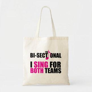Bisectional Tote Bag